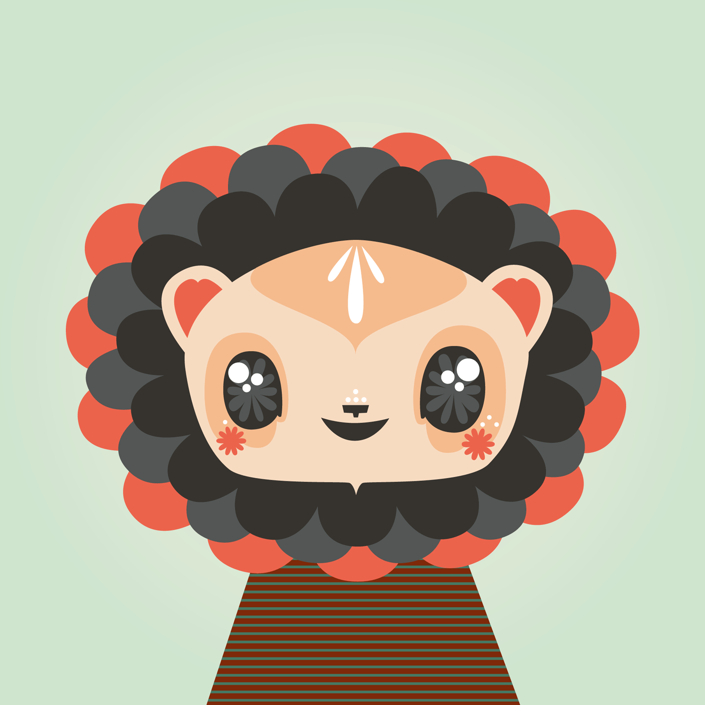Illustration_lion_face4_sm